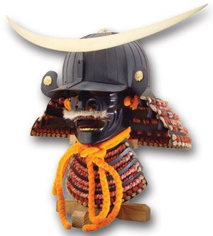 Hełm samuraja Date Masamune Kabuto & Mempo AH2088