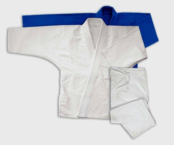 Jiu Jitsu Gi Białe Podwójna Plecionka 17oz - Kimono do Jiu-jitsu