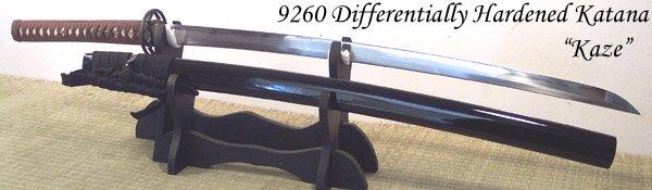Katana Cheness Kaze - 9260 Differentially Hardened Spring Steel