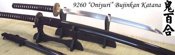 Katana Cheness Oniyuri - 9260 Custom Bujinkan Katana
