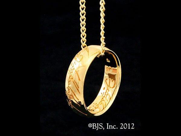 LOTR Gollum Gold Necklace