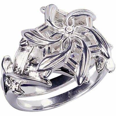 LOTR Pierścień Galadrieli - Srebrny