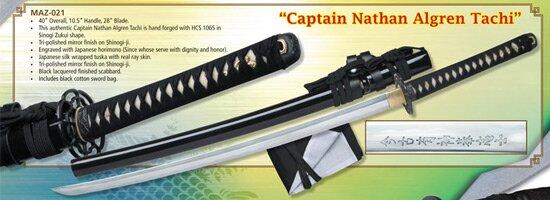 Last Samurai - Captain Nathan Algren Tachi