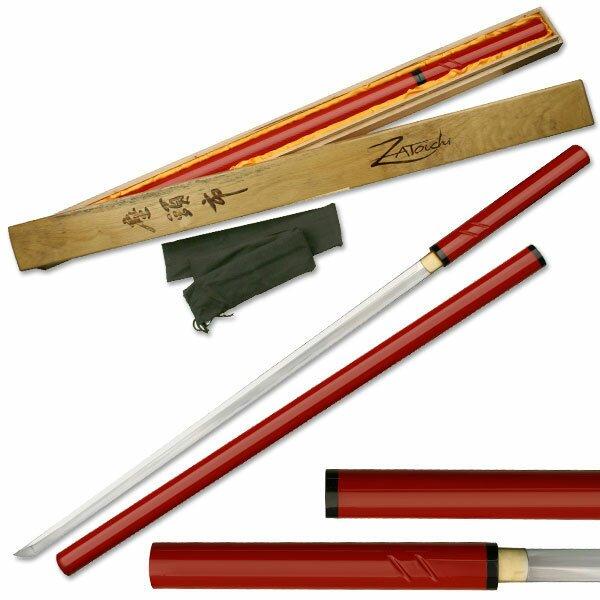 Miecz Zatoichi Hand Forged Sword Red - przecena
