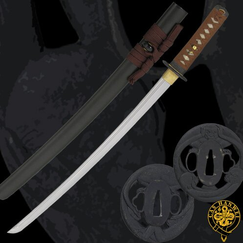 Miecz Hanwei Three Monkey Wakizashi