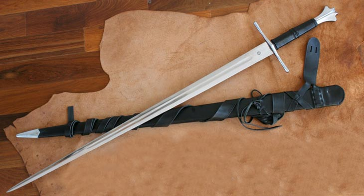 Miecz kuty Two Handed Gothic Sword