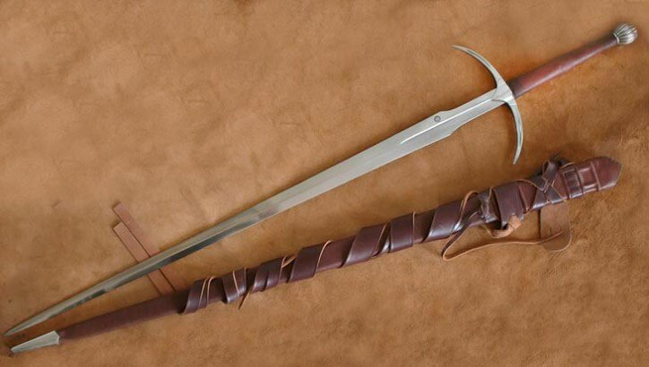 Miecz kuty Two handed Danish Sword