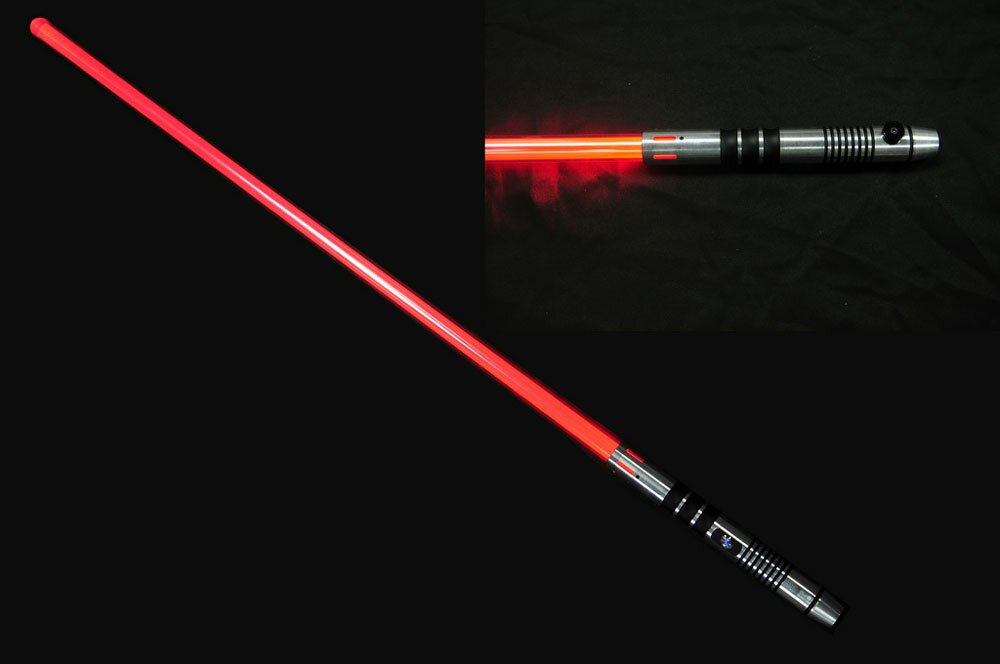 Miecz świetlny Red Lightsaber - No Sound Version