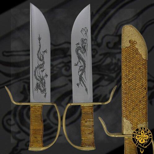 Miecze Hanwei Butterfly Swords (Rattan)