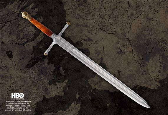 Miniaturka miecza Lód z filmu Gra o Tron