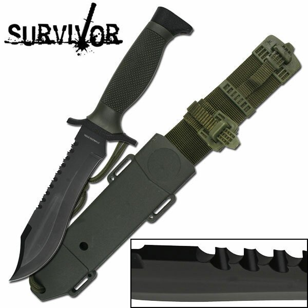 Nóż Survivalowy Master Cutlery Survivor