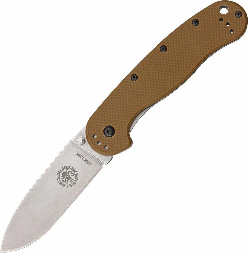 Nóż składany ESEE Avispa Coyote Brown Satin