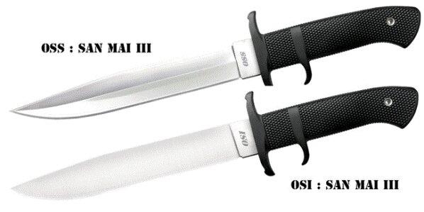 Nóż Cold Steel OSI in San Mai III.