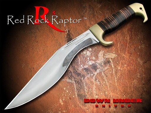 Nóż Down Under Knives RED ROCK RAPTOR