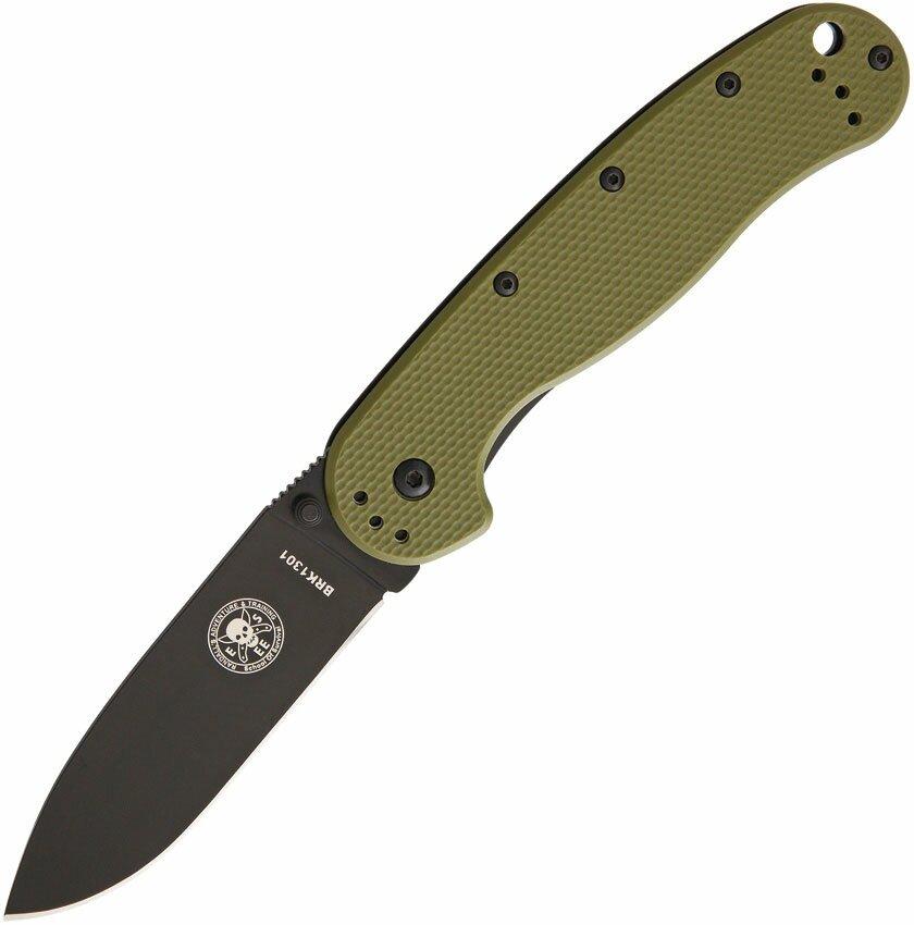 Nóż składany ESEE Avispa OD Green Black