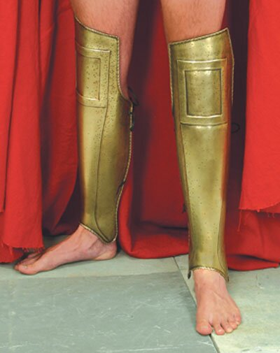 Ochraniacze na nogę z filmu 300 Spartan