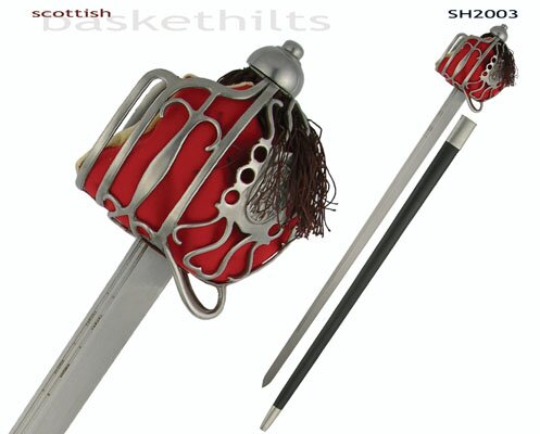 Pałasz Hanwei Scottish Basket Hilt Backsword
