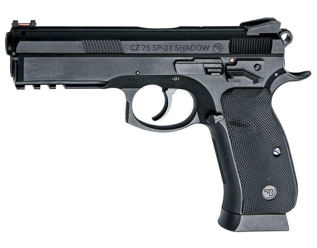 Pistolet wiatrówka CZ 75 P-01 Shadow 4,5 mm