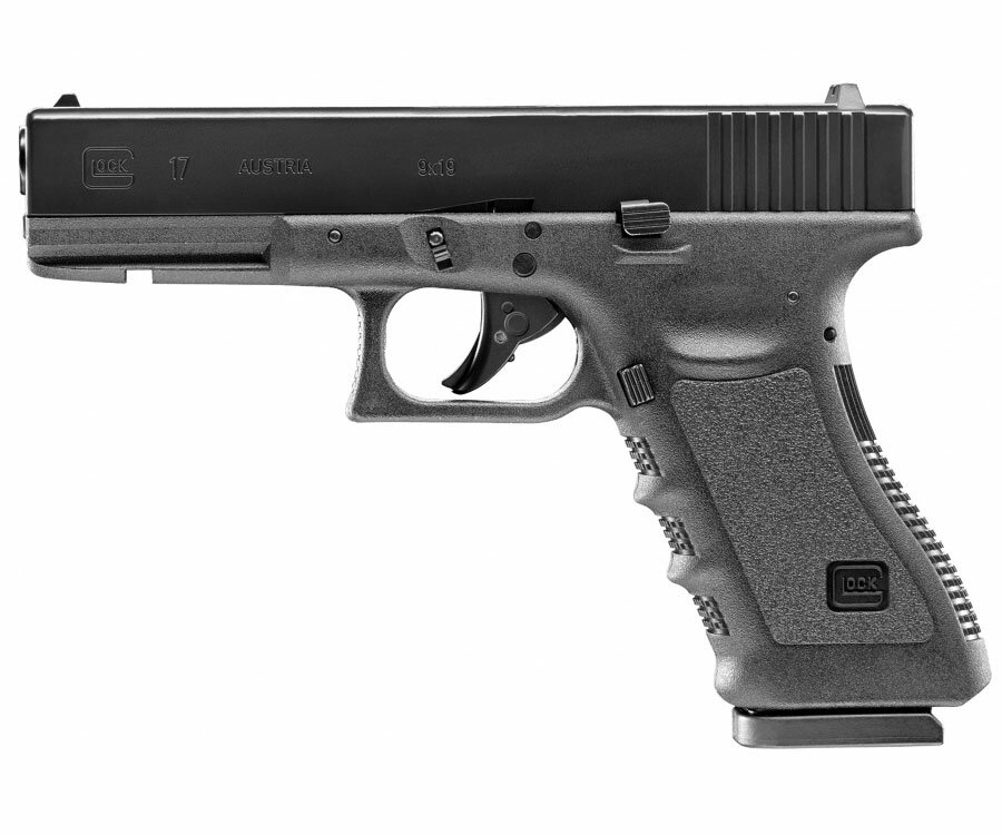 Pistolet wiatrówka Glock 17 blowback 4,5 mm BB CO2