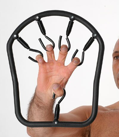 Przyrząd do ćwiczenia palców - Karate Claw Gripper Black