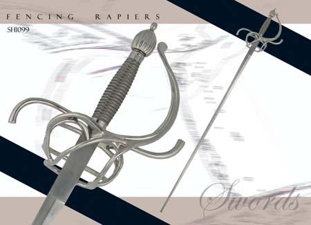 Rapier Treningowy Hanwei Practical Rapier - 37 inch blade