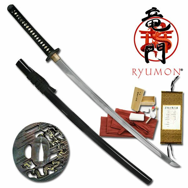 Ryumon Handmade Samurai Katana