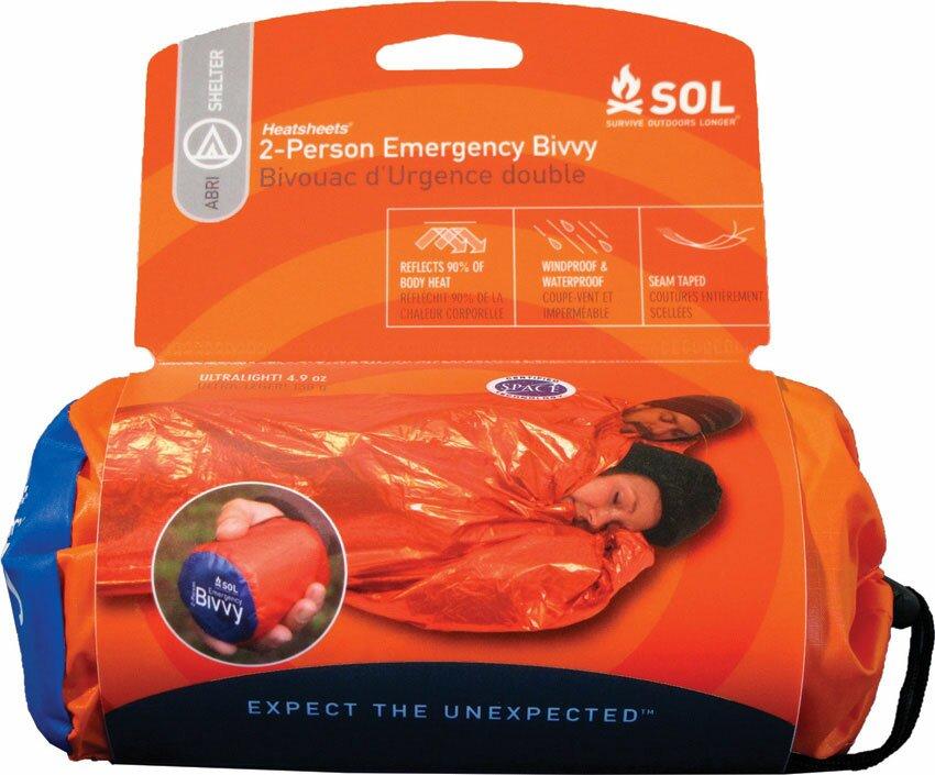 Śpiwór Survivalowy dwuosobowy - SOL Emergency Bivvy Shelter