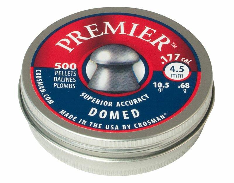 Śrut Crosman Premier Domed Ultra Magnum 4,5 mm 500 szt.