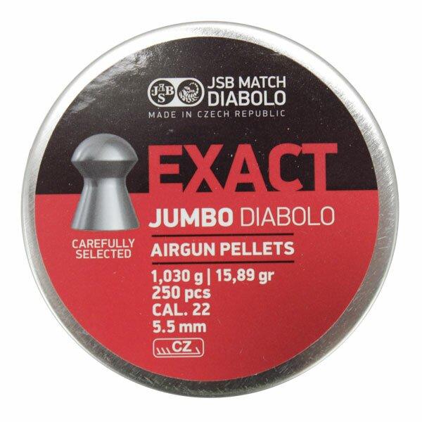 Śrut Diabolo JSB EXACT 5,51 mm 250szt.