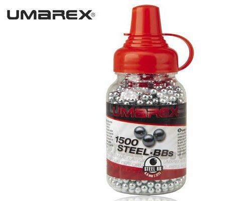 Śrut UMAREX kulki stalowe BB'S 1500 szt. - 4,46 mm