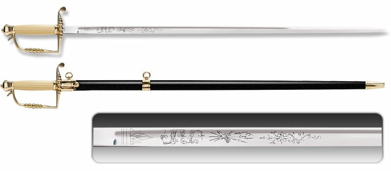 Szpada Cold Steel Officer's Five Ball Spadroon