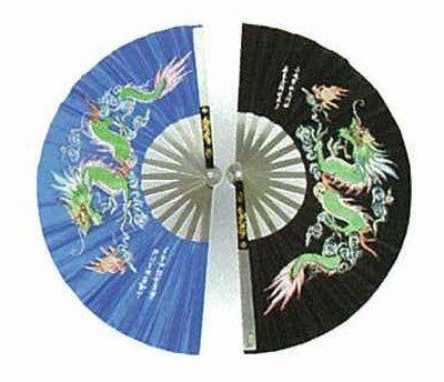 Wachlarz do Kung Fu - Dragon design - przecena